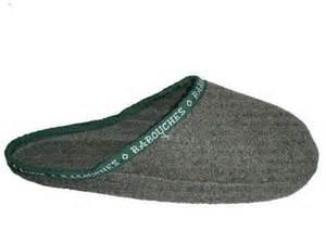 Vert Partout - Les Babouches d'Alain - Couvre-chaussures en feutre