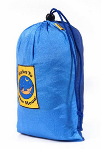 Vert Partout - Ticket To The Moon - Sac pour couverture de plage