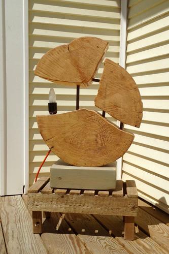 Mo-fer - Vert Partout - Lampe trois morceaux