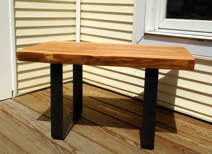 Mo-fer - Vert Partout - Table ou banc en frêne