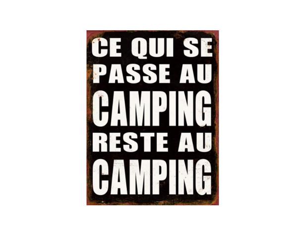 Ce qui se passe au camping reste au camping