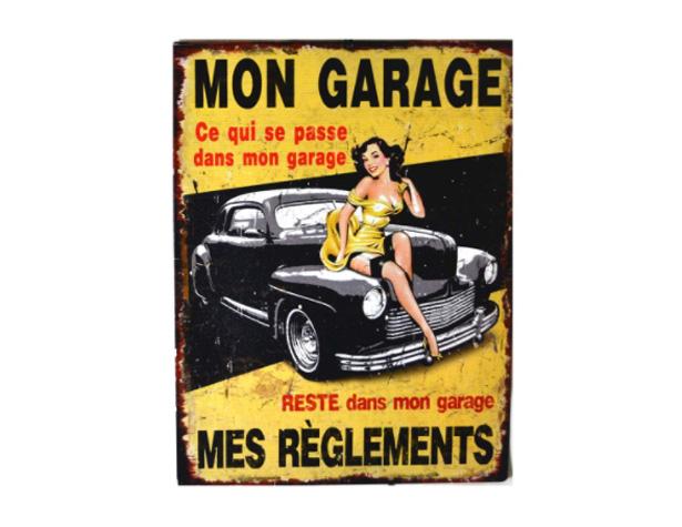 Ce qui se passe dans mon garage reste dans mon garage