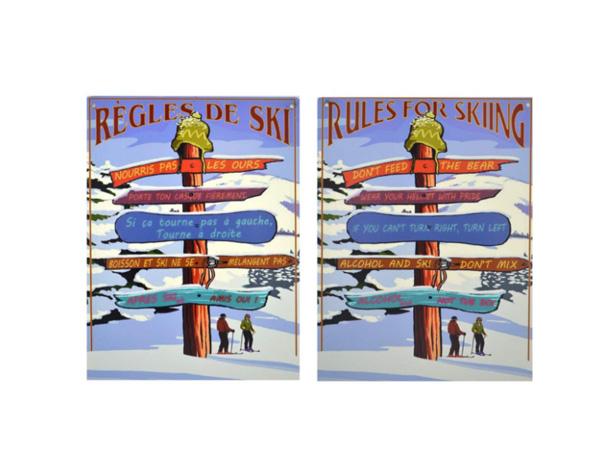 Règles de ski
