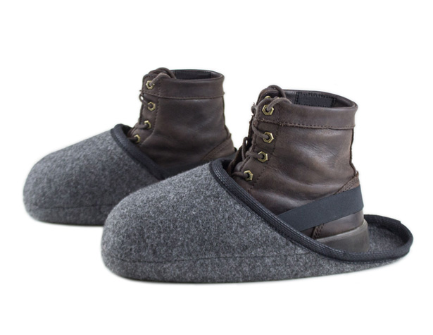 Babouches couvre-chaussures - multi feutre