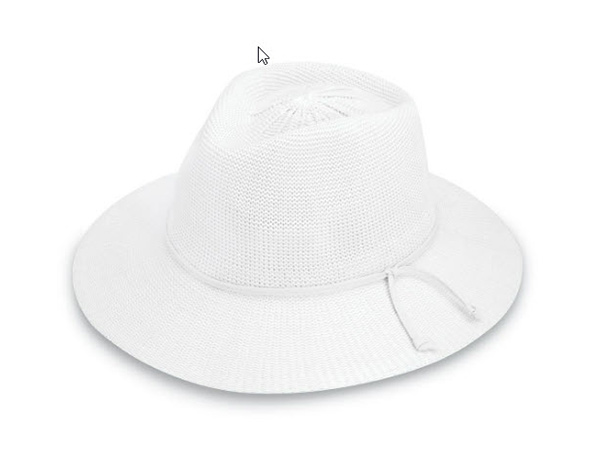 Victoria feutre - Blanc - Wallaroo